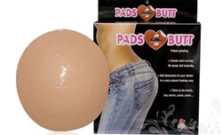 Pads 4 Butt  - Adhesive silicone butt pads by fullness