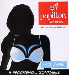 Exclusive air Push-up bra with